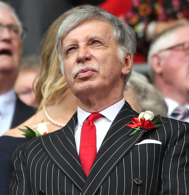 Arsenal majority shareholder Stan Kroenke. Photo: PA