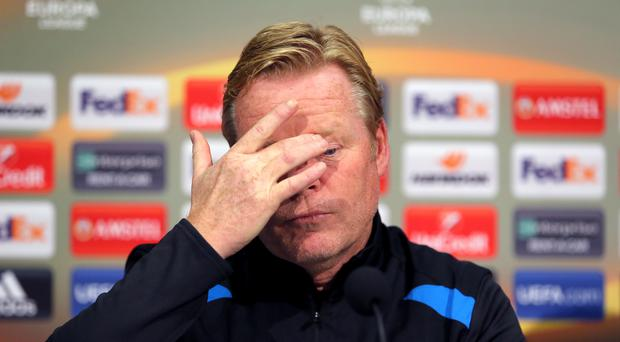 Ronald Koeman lost his job just nine games into the Premier League season
