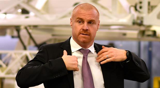 Sean Dyche is among the favourites for the Everton job