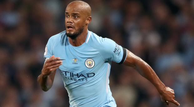 Vincent Kompany due back in Manchester City training in 10 days