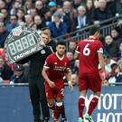 Dejan Lovren was substituted after only 31 minutes of Liverpool's defeat to Tottenham