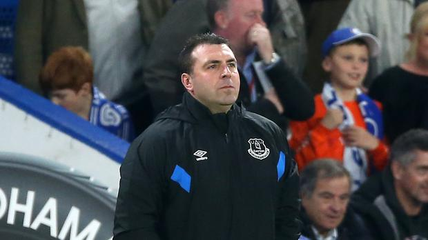 Everton's caretaker manager David Unsworth was coy about his own future