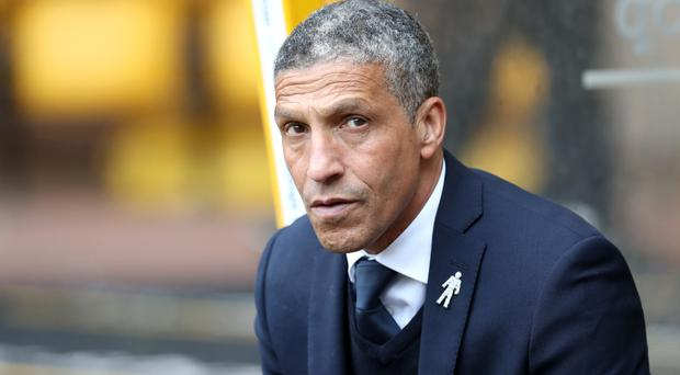 Chris Hughton is not getting carried away by Brighton's win at West Ham last week