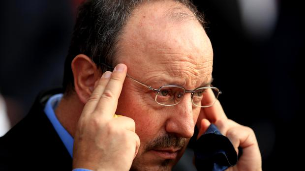 Rafa Benitez is not thinking about the Everton vacancy