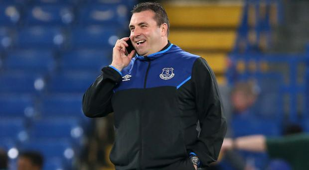 Everton's caretaker manager David Unsworth wants to see more smiles around the club