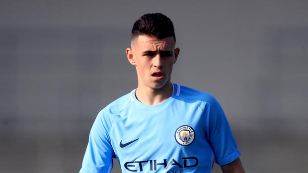 Phil Foden is yet to make his senior bow for Manchester City