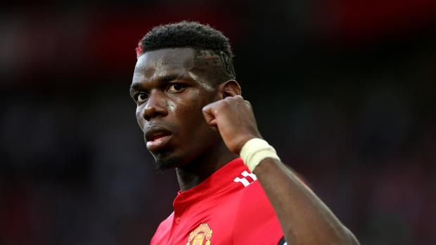 Paul Pogba has been sidelined by a hamstring injury.