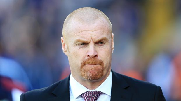 Sean Dyche celebrates his fifth anniversary with Burnley on Monday