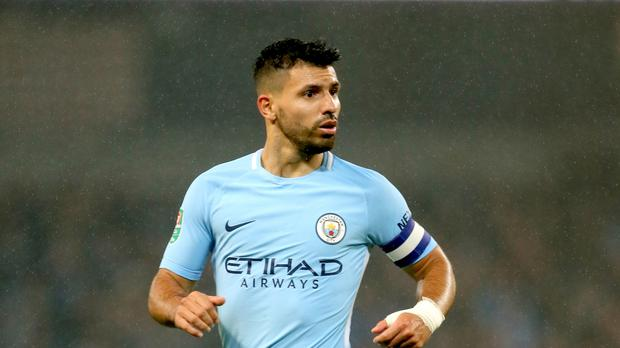 Sergio Aguero has broken Manchester City's goalscoring record