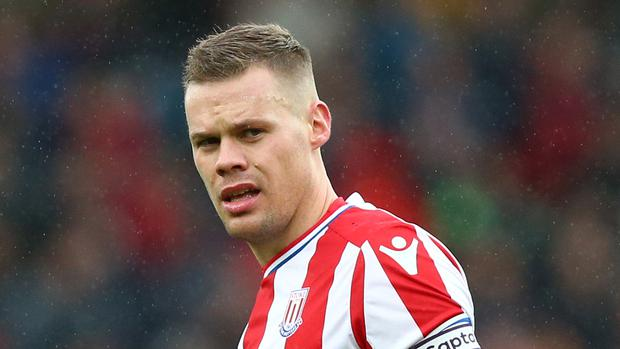 Ryan Shawcross is the latest defensive doubt at Stoke