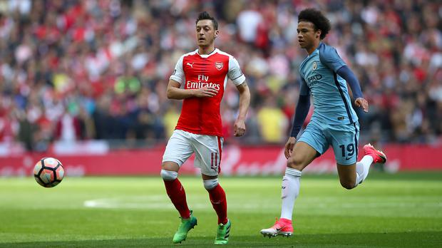 Manchester City face Arsenal this weekend
