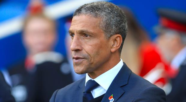 Brighton manager Chris Hughton has urged his side to keep fighting for every result in order to take the feel-good factor into next week's international break