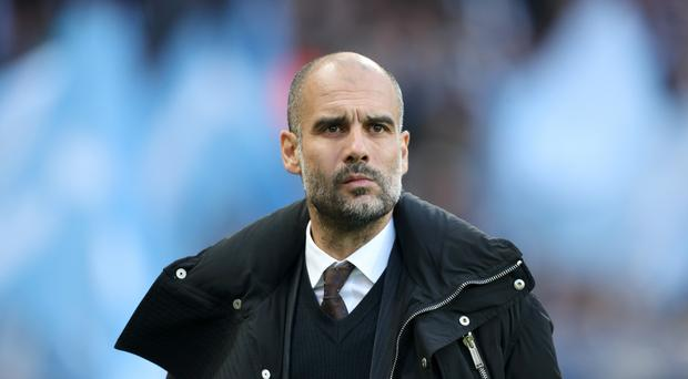 Manchester City manager Pep Guardiola is preparing for the visit of Arsenal