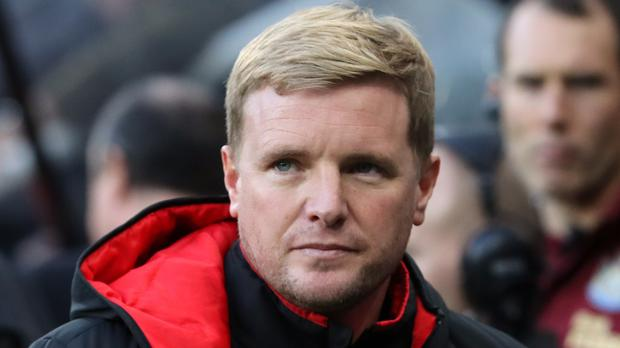 Bournemouth manager Eddie Howe guided his team to a welcome win at Newcastle