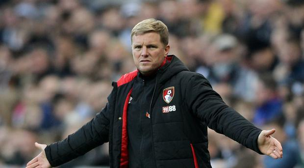 Eddie Howe has urged Bournemouth to build upon the victory at Newcastle