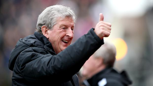Roy Hodgson insists the Crystal Palace players believe in themselves