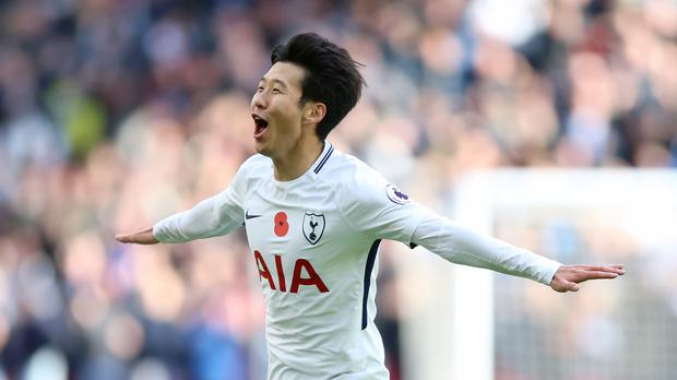 Son Heung-min scored the game's only goal as Tottenham beat Crystal Palace