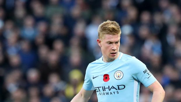 Kevin De Bruyne produced another midfield masterclass