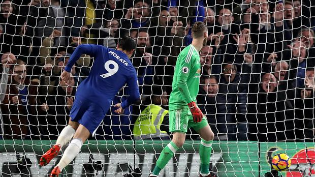 Chelsea's Alvaro Morata scored the winner against Manchester United