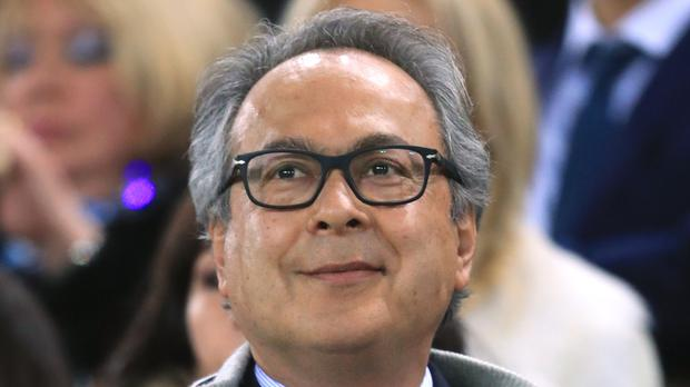 Farhad Moshiri is Everton's biggest shareholder