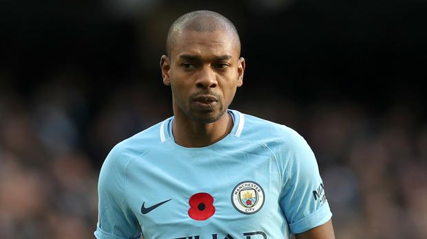Fernandinho impressed once again in Manchester City's midfield against Arsenal