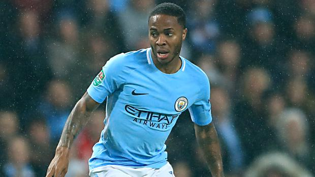 Manchester City's Raheem Sterling, pictured, was criticised by Arsenal boss Arsene Wenger