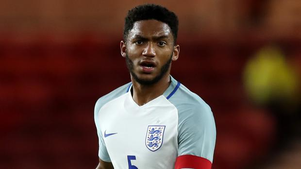 Joe Gomez is determined to make the most of his England call-up