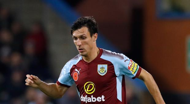 Burnley's Jack Cork has been called up by England