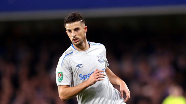 Everton forward Kevin Mirallas has apologised for his behaviour in a training session.