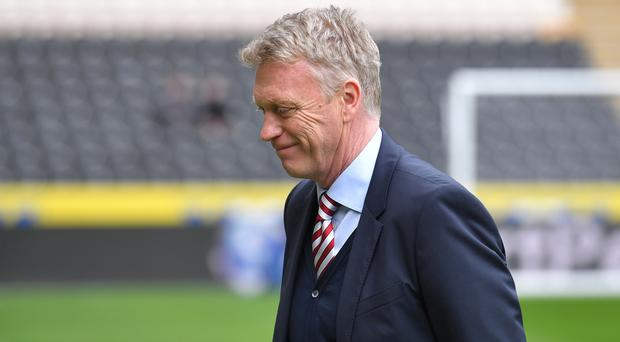 Can David Moyes, pictured, improve on Slaven Bilic's record at West Ham?