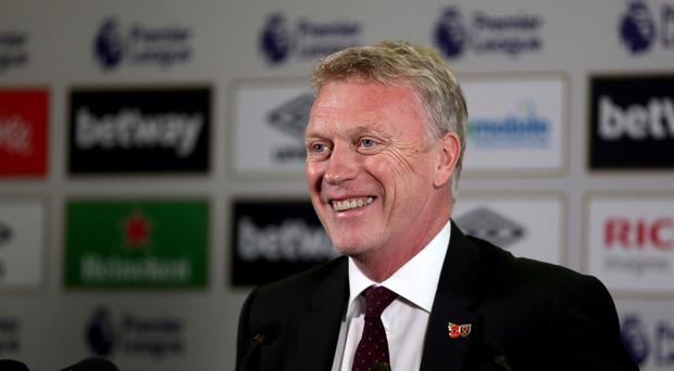New West Ham manager David Moyes has promised to work his players hard
