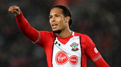 Southampton's Virgil van Dijk wanted to join Liverpool in the summer