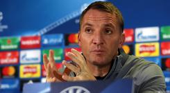 Brendan Rodgers, now Celtic manager, was the last British boss to finish in the top four, with Liverpool in 2013-14