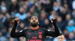 Will Arsene Wenger put his faith in Arsenal's record signing Alexandre Lacazette this weekend?