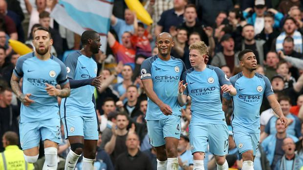 Manchester City are on course for a record-breaking season