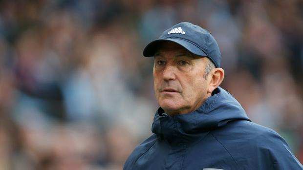 West Brom boss Tony Pulis has come under pressure this season