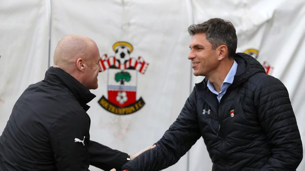 Mauricio Pellegrino, right, believes attack is the best form of defence as he takes his misfiring Southampton side to Liverpool in search of a morale-boosting victory