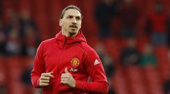 Zlatan Ibrahimovic is ready for his Manchester United return
