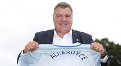 Former England manager Sam Allardyce has given up on becoming Everton's next boss