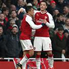 Alexis Sanchez and Mesut Ozil inspired Arsenal