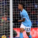 Gabriel Jesus opened the scoring for Manchester City