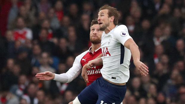 Harry Kane was available for Tottenham