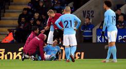John Stones faces several weeks out with a hamstring injury