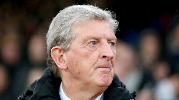 Crystal Palace manager Roy Hodgson was far from happy after seeing his side held at home by Everton