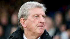Roy Hodgson saw his Crystal Palace side held by Everton