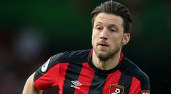 Harry Arter scored his first goal since February on Saturday