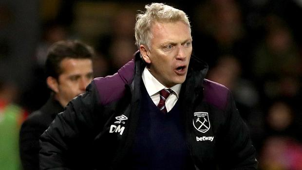 West Ham manager David Moyes lost his first game in charge