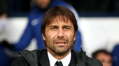 Chelsea manager Antonio Conte has been linked with a return to the Italy job