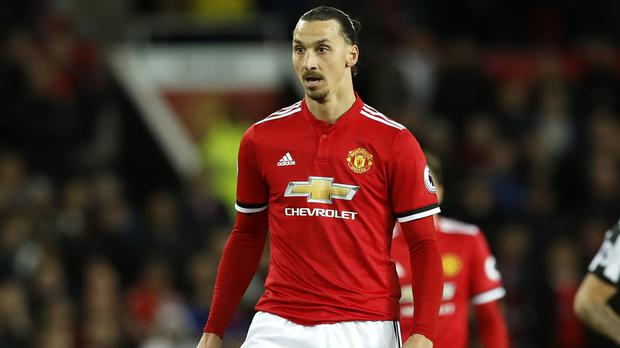 Zlatan Ibrahimovic is back in action after injury