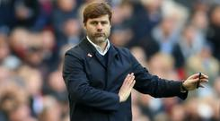 Mauricio Pochettino, pictured, left Danny Rose out of the Tottenham squad on Saturday